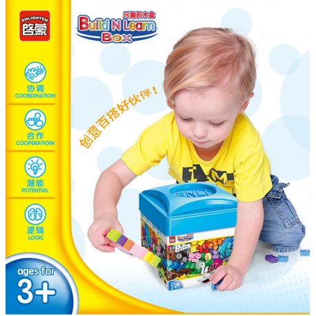 Bộ xếp hình Enlighten Build N Learn 2901 – 460 chi tiết