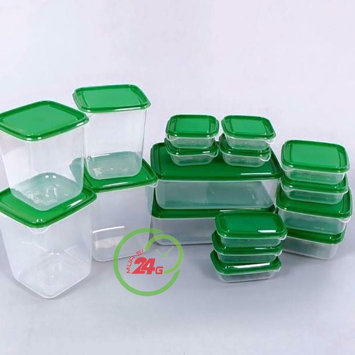 Hộp Nhựa Đựng Đồ 17 Món
