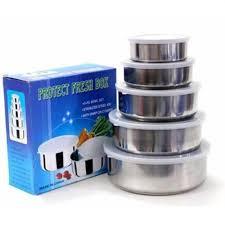 Bộ 5 Thố Inox Protect Fresh Box