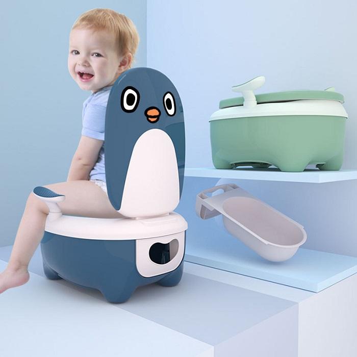 Bô vệ sinh hình thú cho bé