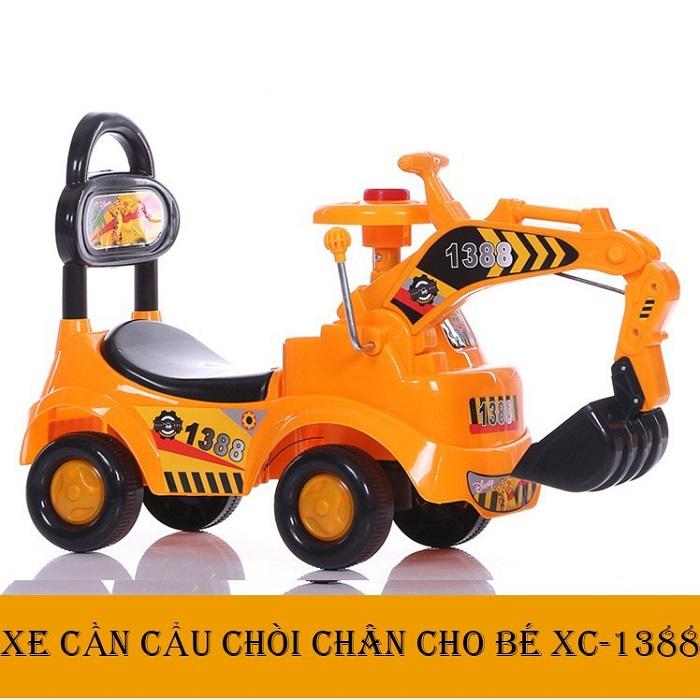 Xe cẩu chòi chân cho bé XC-1388